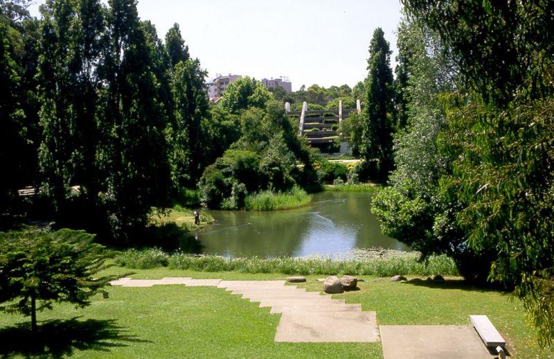 Jardim da Fundação Calouste Gulbenkian [foto: José Manuel Costa Alves]