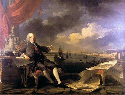 Ilustração: Retrato do Marquês de Pombal (1766), por Louis-Michel van Loo e Claude Joseph Vernet.