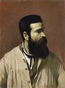 Retrato que o Marques de Oliveira fez de Soares dos Reis