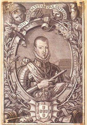 D. Sebastião (gravura do século XIX)