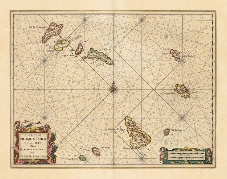 Representação do arquipélago de Cabo Verde (séc. XVII)