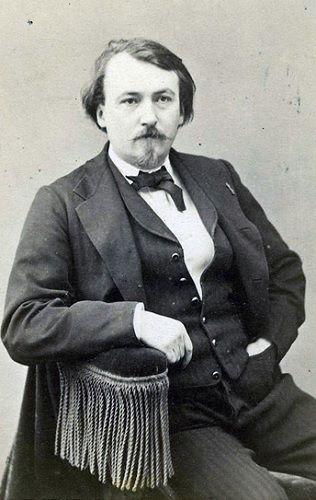 Fotografia de Gustave Doré tirada por Felix Nadar, 1867