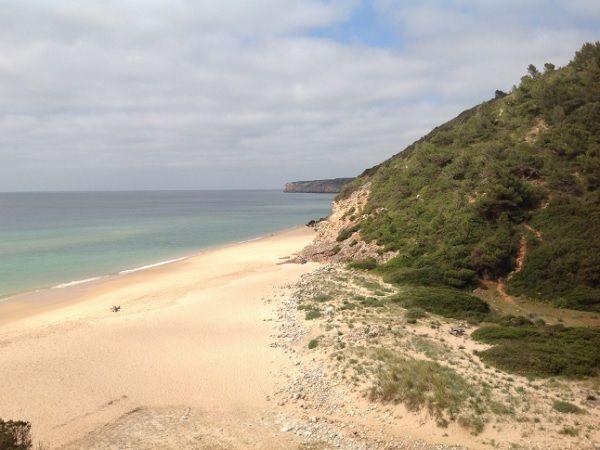 Sagres-Lagos, uma corrente de belas praias (aqui, Figueira) DR