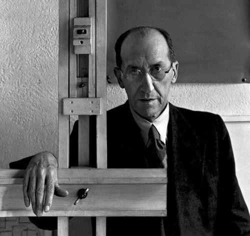 Mondrian, fotografado por Arnold Newman em 1942.
