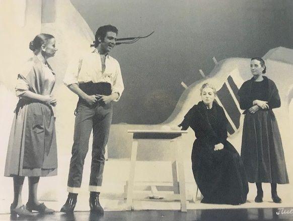"""""""O Duelo"""", Bernardo Santareno, Museu Nacional do Teatro"""