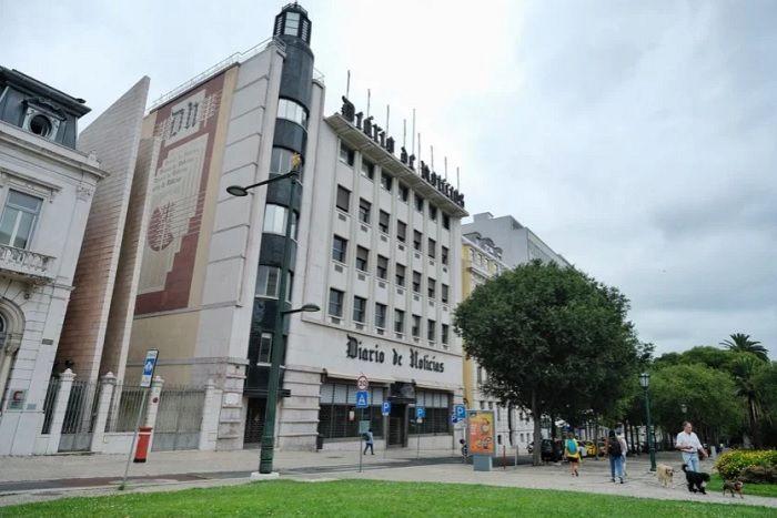As antigas instalações do Diário de Notícias na Avenida da Liberdade, em Lisboa [Rui Gaudêncio]