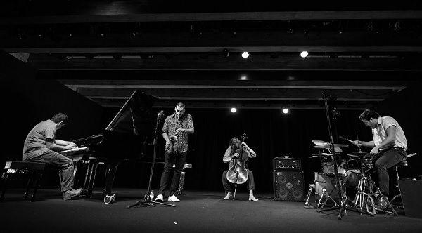 Toscano, Pinheiro, Mira e Ferrandini no Jazz em Agosto de 2019_Petra Cvelbar