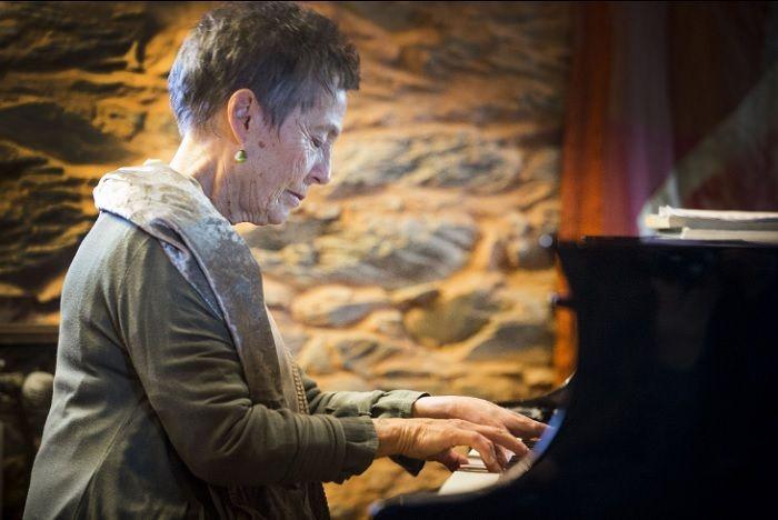 O percurso artístico da pianista, distinguida com o Prémio Pessoa em 1989, remonta ao final dos anos 1940, quando, aos 4 anos, actuou em público pela primeira vez [Foto: Nelson Garrido]