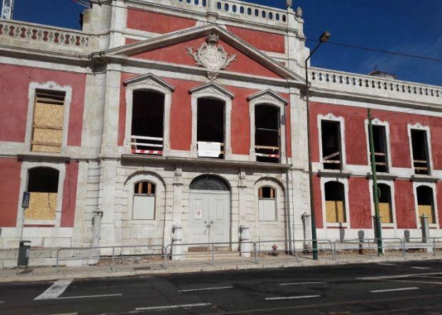 O futuro MACAM ficará instalado no Palácio dos Condes da Ribeira Grande (antigo Liceu Rainha Dona Amélia), em Lisboa DR