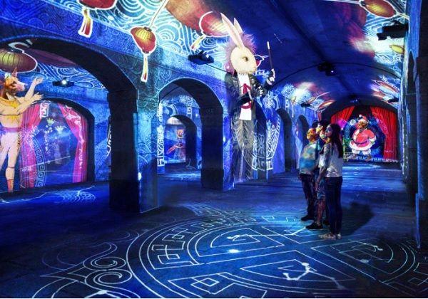 """O Fabuloso Circo de Natal"", do atelier OCUBO, vai estar na Alfândega do Porto até 10 de janeiro. Foto: Atelier OCUBO"
