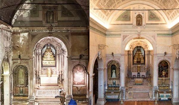 Igreja albergou a Casa dos Vinte e Quatro depois do terramoto de 1755. Foto: DR